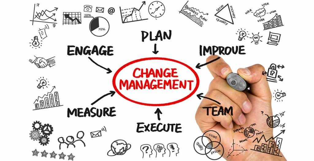 Change Management Illustration